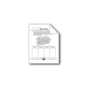 Evan-Moor Educational Publishers Over the City (Super Sentence Organizer) Computers Workbook, Grade 3 [eBook]