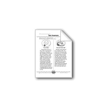 Evan-Moor Educational Publishers Two Inventors (Venn Diagram) Computers Workbook, Grade 3 [eBook]