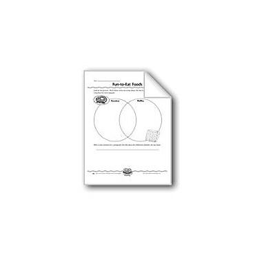 Evan-Moor Educational Publishers Fun-To-Eat Foods (Venn Diagram) Computers Workbook, Grade 3 [eBook]