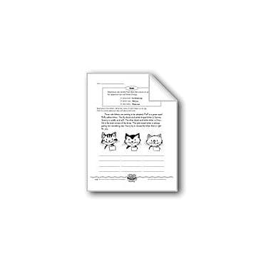 Evan-Moor Educational Publishers Three Cute Kittens (Adjectives) Computers Workbook, Grade 3 [eBook]