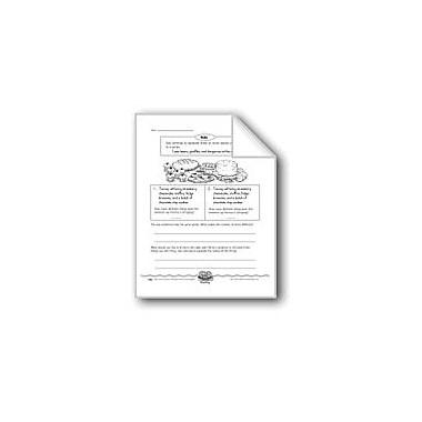 Evan-Moor Educational Publishers The Bake Sale (Commas In A Series) Computers Workbook, Grade 3 [eBook]