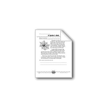 Evan-Moor Educational Publishers A Spider's Web (Captions) Computers Workbook, Grade 3 - Grade 4 [eBook]