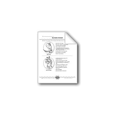 Evan-Moor Educational Publishers Australian Animals (Web Organizer/Information) Computers Workbook, Grade 4 - Grade 8 [eBook]