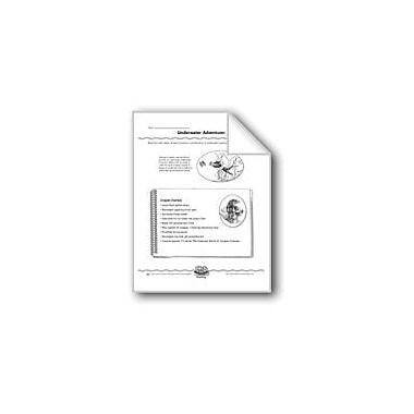 Evan-Moor Educational Publishers Underwater Adventurer (Using An Outline) Computers Workbook, Grade 5 - Grade 8 [eBook]