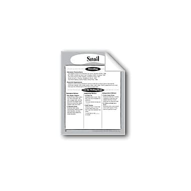 Evan-Moor Educational Publishers Snail Shape Book Reading & Writing Workbook, Kindergarten - Grade 2 [eBook]