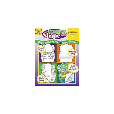 Evan-Moor Educational Publishers The Ultimate Shape Book, Grades K-2 Workbook, Kindergarten - Grade 2 [Enhanced eBook]