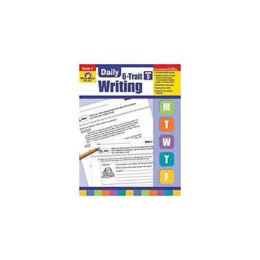 Evan-Moor Educational Publishers Daily 6-Trait Writing Grade 5 Language Arts Workbook, Grade 5 [Enhanced eBook]