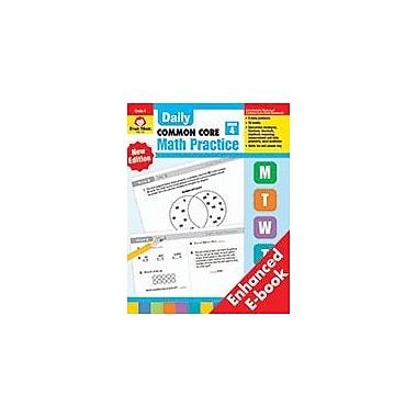 Evan-Moor Educational Publishers Daily Common Core Math Practice E-Book Math Workbook, Grade 4 [eBook]