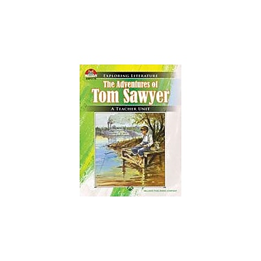 Milliken Publishing The Adventures of Tom Sawyer: Literature Resource Guide Workbook, Grade 3 - Grade 8 [Enhanced eBook]