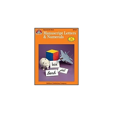 Milliken Publishing Manuscript Letters & Numerals Language Arts Workbook, Kindergarten - Grade 3 [Enhanced eBook]