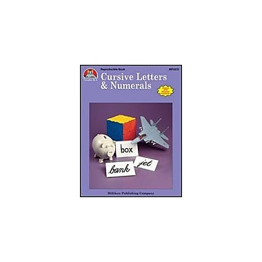 Milliken Publishing Cursive Letters & Numerals Language Arts Workbook, Kindergarten - Grade 3 [eBook]