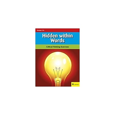 Milliken Publishing Hidden Within Words Problem Solving Workbook, Grade 5 - Grade 8 [eBook]