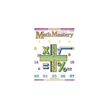 Milliken Publishing Math Mastery Math Workbook, Grade 5 - Grade 8 [Enhanced eBook]