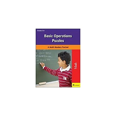Milliken Publishing Basic Operations Puzzles Problem Solving Workbook, Grade 3 - Grade 6 [eBook]