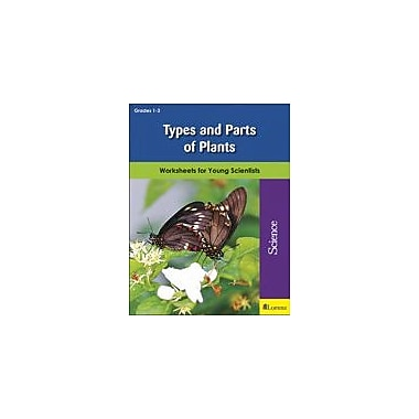 Milliken Publishing Types and Parts of Plants Science Workbook, Grade 1 - Grade 3 [eBook]