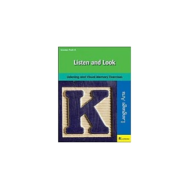 Milliken Publishing Listen and Look Language Arts Workbook, Preschool - Kindergarten [eBook]