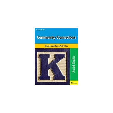 Milliken Publishing Community Connections Social Studies Workbook, Preschool - Kindergarten [eBook]