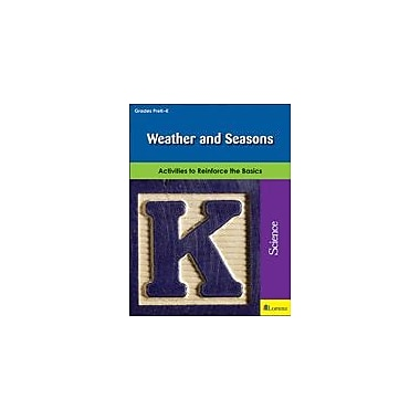 Milliken Publishing Weather and Seasons Science Workbook, Preschool - Kindergarten [eBook]