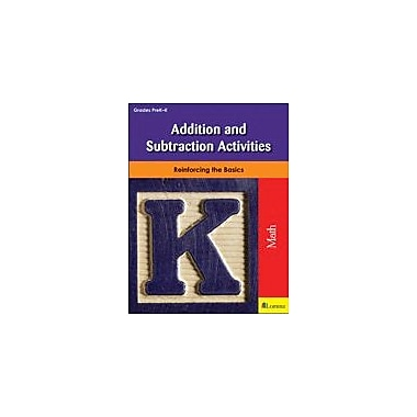 Milliken Publishing Addition and Subtraction Activities Math Workbook, Preschool - Kindergarten [eBook]