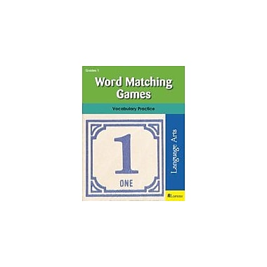 Milliken Publishing Word Matching Games Language Arts Workbook, Grade 1 [eBook]