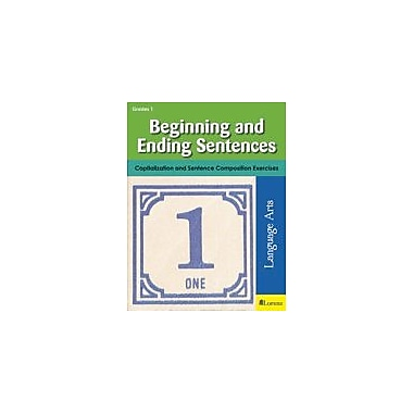 Milliken Publishing Beginning and Ending Sentences Grammar Workbook, Grade 1 [eBook]