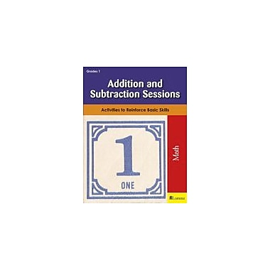 Milliken Publishing Addition and Subtraction Sessions Math Workbook, Grade 1 [eBook]