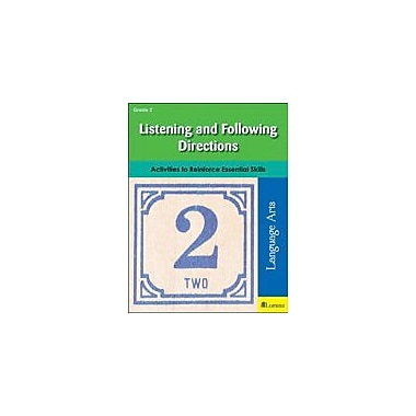 Milliken Publishing Listening and Following Directions Character & Social Skills Workbook, Grade 2 [eBook]