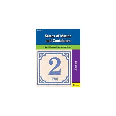 Milliken Publishing States of Matter and Containers Science Workbook, Grade 2 [eBook]