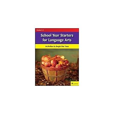 Milliken Publishing School Year Starters For Language Arts Language Arts Workbook, Kindergarten - Grade 3 [eBook]