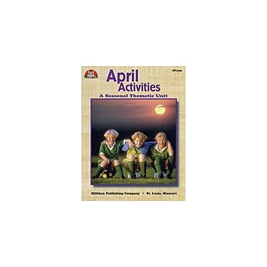 Milliken Publishing April Activities Other Workbook, Kindergarten - Grade 3 [Enhanced eBook]