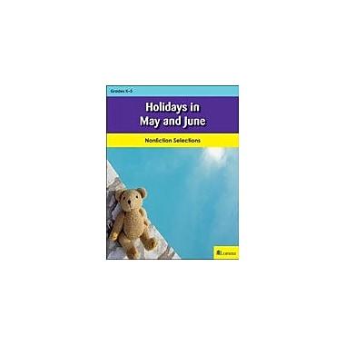 Milliken Publishing Holidays In May and June Social Studies Workbook, Kindergarten - Grade 3 [eBook]