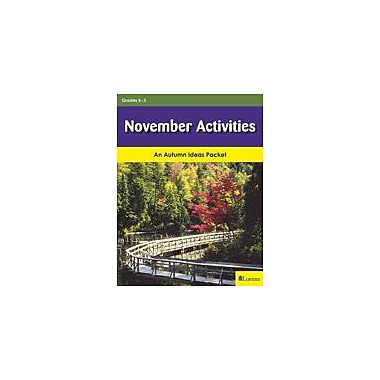 Milliken Publishing November Activities Cross-Curricular Workbook, Kindergarten - Grade 3 [eBook]