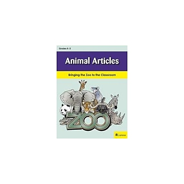 Milliken Publishing Animal Articles Art & Music Workbook, Kindergarten - Grade 3 [eBook]