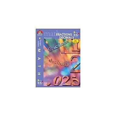 Milliken Publishing Fractions and Decimals: Grades 4,5,6 Math Workbook, Grade 4 - Grade 6 [Enhanced eBook]