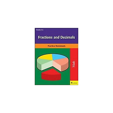 Milliken Publishing Fractions and Decimals Math Workbook, Grade 4 - Grade 6 [eBook]