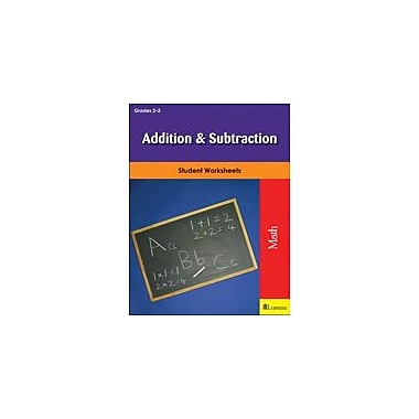 Milliken Publishing Addition & Subtraction Math Workbook, Grade 2 - Grade 3 [eBook]