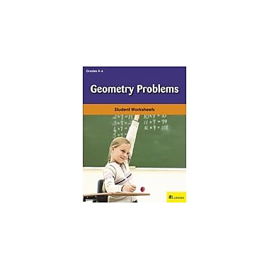 Milliken Publishing Geometry Problems Math Workbook, Grade 4 - Grade 6 [eBook]