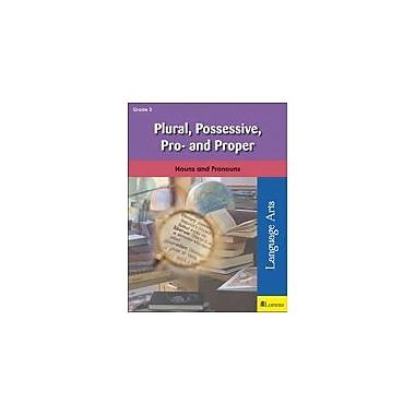 Milliken Publishing Plural, Possessive, Pro-, and Proper Grammar Workbook, Grade 3 [eBook]