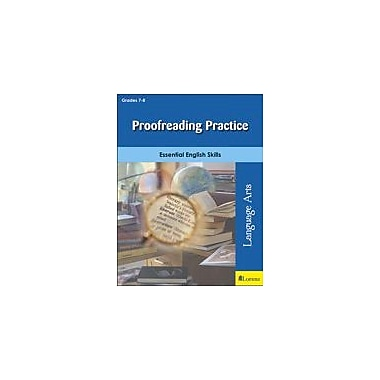Milliken Publishing Proofreading Practice Grammar Workbook, Grade 7 - Grade 8 [eBook]