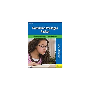 Milliken Publishing Nonfiction Passages Packet Language Arts Workbook, Grade 7 [eBook]
