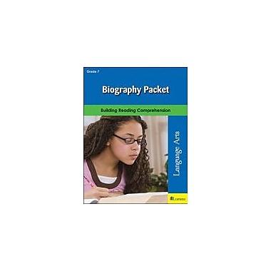 Milliken Publishing Biography Packet Language Arts Workbook, Grade 7 [eBook]
