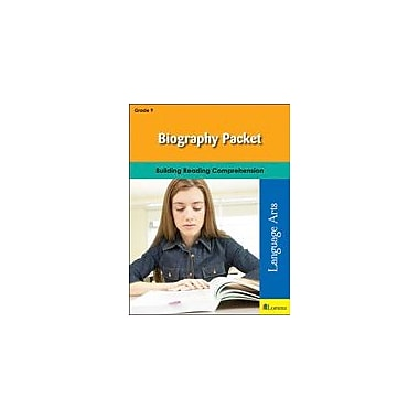 Milliken Publishing Biography Packet Language Arts Workbook, Grade 9 [eBook]