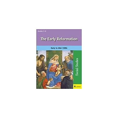 Milliken Publishing The Early Reformation Social Studies Workbook, Grade 7 - Grade 12 [eBook]