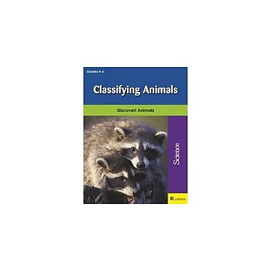 Milliken Publishing Classifying Animals Science Workbook, Grade 4 - Grade 6 [eBook]