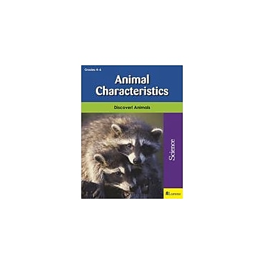 Milliken Publishing Animal Characteristics Science Workbook, Grade 4 - Grade 6 [eBook]