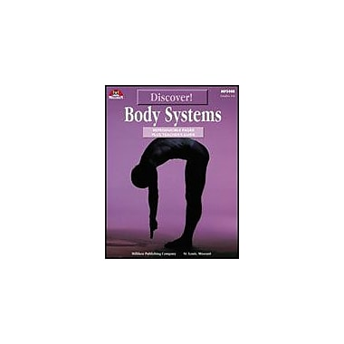 Milliken Publishing Discover! Body Systems Science Workbook, Grade 4 - Grade 6 [Enhanced eBook]