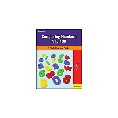 Milliken Publishing Comparing Numbers 1 to 100 Math Workbook, Grade 1 - Grade 2 [eBook]