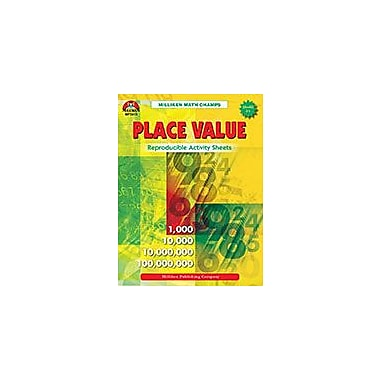 Milliken Publishing Math Champs! Place Value Math Workbook, Grade 3 - Grade 4 [eBook]