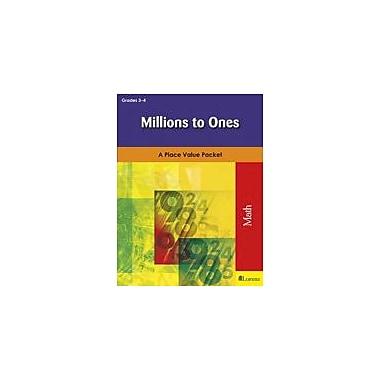 Milliken Publishing Millions to Ones Math Workbook, Grade 3 - Grade 4 [eBook]