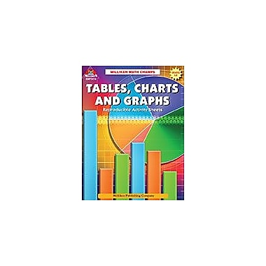 Milliken Publishing Math Champs! Tables, Charts, & Graphs Math Workbook, Grade 6 - Grade 8 [eBook]